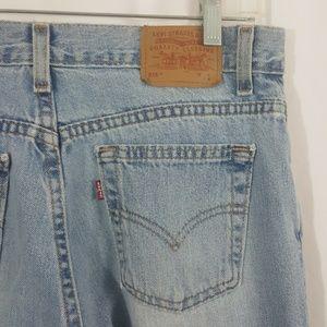 Levis 515 Blue Jeans Denim USA Made Vintage 12S